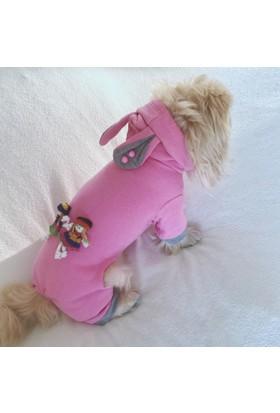 Kemique Pembe Frıends Tulum Köpek Kıyafeti