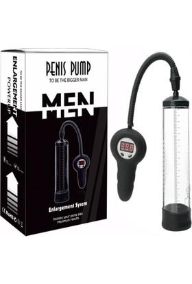 Canwin Elektrikli Dijital Sayaçlı Otomatik Vakum Pompa Penis Pompası