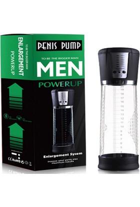 Canwin Şarjlı Otomatik Vakum Pompası Penis Pompası Penis Pump