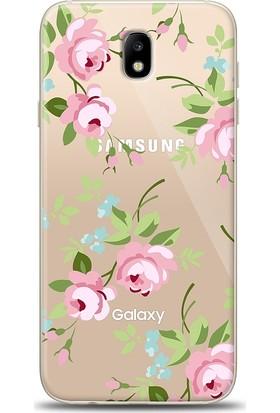 Eiroo Samsung Galaxy J7 Pro 2017 Roses Kılıf