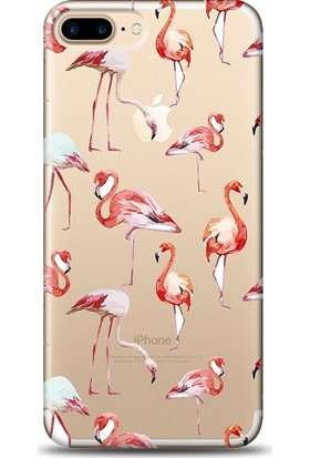 Eiroo Apple iPhone 8 Plus Flamingo Kılıf