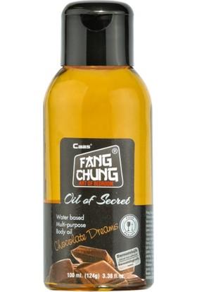 Cabs Oil Of Secret - Çikolata Aromalı Oral İlişki Uygun Masaj Yağı