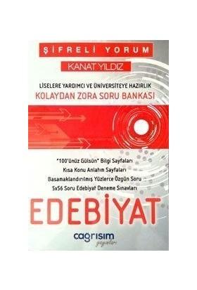 Çağrışım Yayınları Şifreli Yorum Kanat Yıldız Edebiyat Kolaydan Zora Soru Bankası