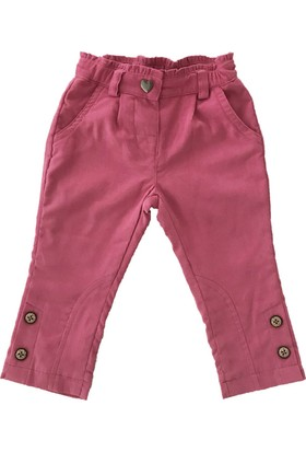 Bombili 1810 Astarlı Kadife Kız Bebek Pantolon