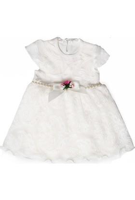 Cicimi 3601 Pliseli Elbise Kız Bebek