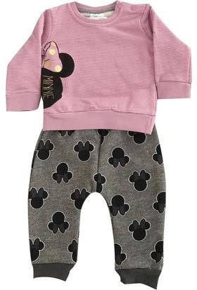 Çimpa 12049 Minnie Mouse Kız Bebek 2'li Takım