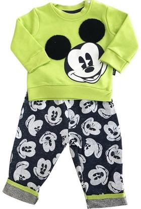 Çimpa 12080 Mickey Mouse Erkek Bebek 2'li Takım