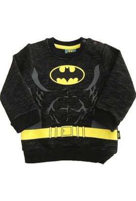 Çimpa 12260 Batman Erkek Bebek Sweatshirt