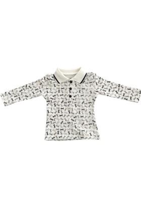 Divonette-8245 Fiyonklu Kız Bebek Sweatshirt