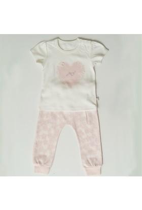 Mymio 486 Dantel 2'li Takım Kız Bebek