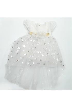 Tufitto 231 Yıldızlı Elbise Kız Bebek