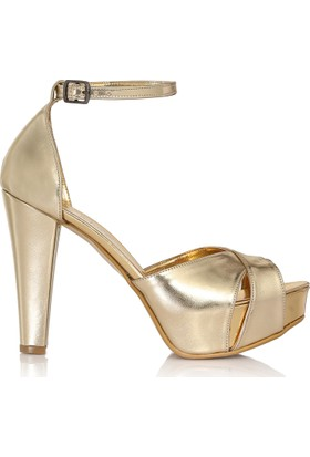 Sothe Ba-1025 Platform Topuklu Kadın Ayakkabı