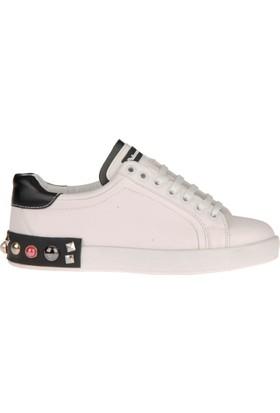 Sothe Dg-1804 Siyah Sneakers Kadın Ayakkabı