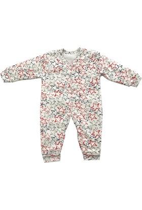 Minilove 410 Yıldızlı Kız Bebek Uyku Tulumu