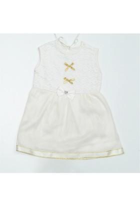 Tuanay 35437 Fiyonklu Elbise Kız Bebek