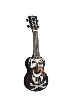 Mahalo Soprano Ukulele (Pirate Black)