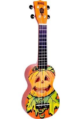Mahalo Soprano Ukulele (Mahaloween Orange)