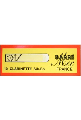 Barre Bb Clarinet No:1 Klarnet Kamışı
