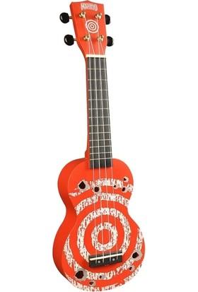 Mahalo Soprano Ukulele (Target Red)