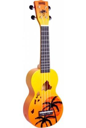 Mahalo Soprano Ukulele (Hawaii Oragne Burst)