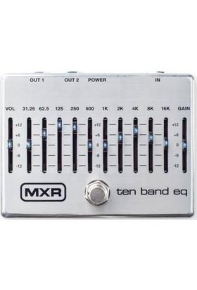MXR M108 S 10 Band EQ Pedalı