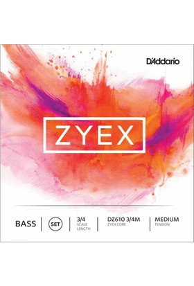 D'Addario Zyex DZ610 3/4M Kontrabas Teli
