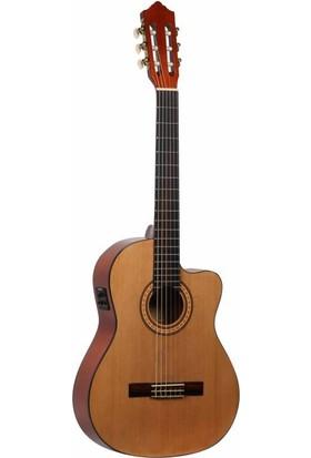 Ashton CGFLCEQ Flamenko Elektro Klasik Gitar