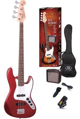 SX SB1-SK-CAR Bas Gitar Seti