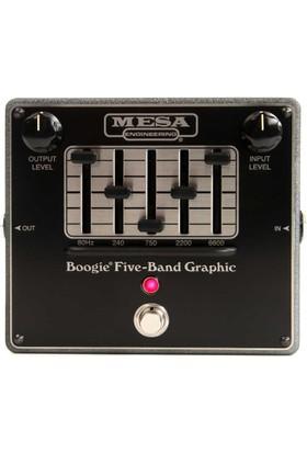 Mesa Boogie Five Band Graphic EQ Pedalı