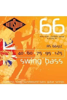 Rotosound RS666LC Swing 5 Telli Bass Gitar Teli (040-125)