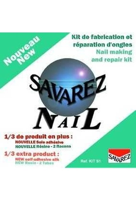 Savarez Kits1 Nail Kit Tırnak Kiti
