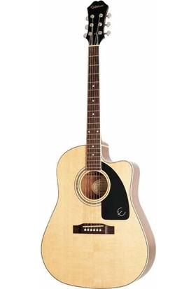 Epiphone AJ-220SCE Solid Top Elektro Akustik Gitar