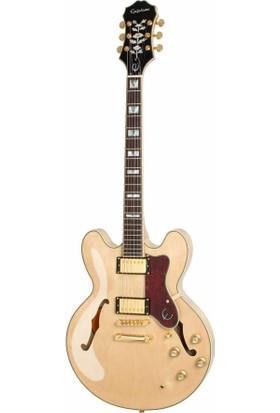 Epiphone Sheraton-II Pro Naturel Elektro Gitar