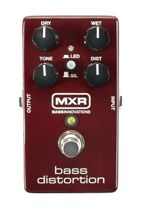 MXR M85 Bass Distortion Bas Pedalı