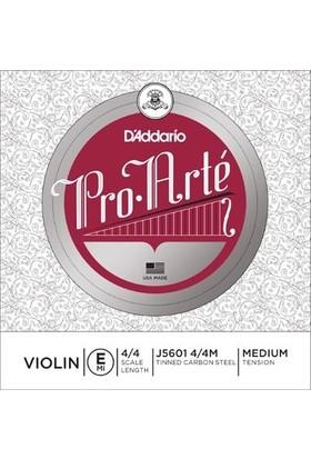 D'Addario J5601 4/4M Pro Arte Tek Keman Teli (E)