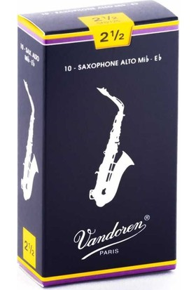 Vandoren SR2125 Classic Alto Saksafon Kamışı No:2,5