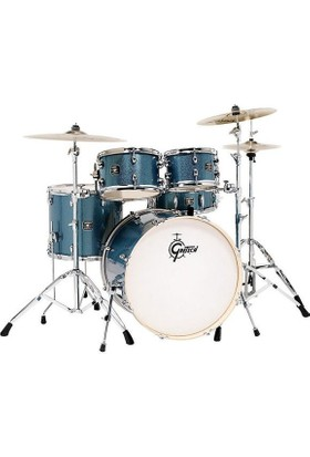 Gretsch Energy Serisi 22 Inch 5 Parça Blue Sparkle Davul Seti (Aksamlar Dahil)