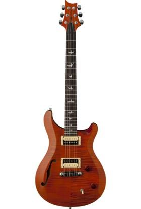 PRS SE Custom 22 Semi-Hollow Elektro Gitar (Orange)