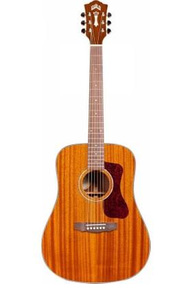 Guild D-120 Nat Elektro Akustik Gitar