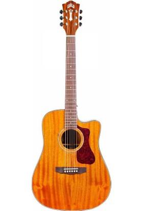 Guild D-120CE NAT Elektro Akustik Gitar