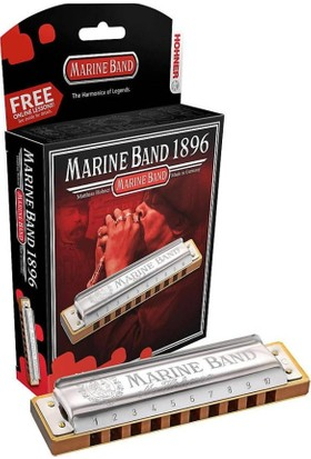 Hohner Marine Band 1896/20 Classic F# (Fa Diyez Majör)