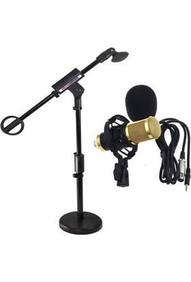 Lastvoice Bm800 Mikrofon + Kms 01 Masa Mikrofon Standı