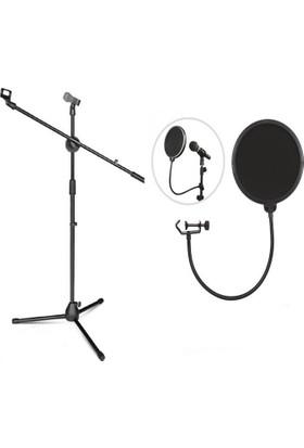Lastvoice Ms06 Mikrofon Standı + Pop Filtre