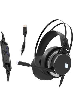 Rampage Sn-Rw8 Cobra Siyah 7.1 Surround Usb Led Gaming Kulaklık