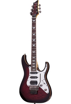 Schecter Banshee-6 Fr Extreme Cb Elektro Gitar (Black Cherry Burst)