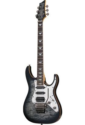 Schecter Banshee-6 Fr Extreme Cb Elektro Gitar (Charcoal Burst)