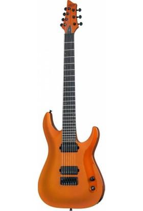 Schecter Keith Merrow KM-7 Elektro Gitar ( Lambo Orange)