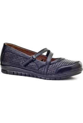 Cabani Cırt Bantlı Comfort Günlük Kadın Ayakkabı Siyah