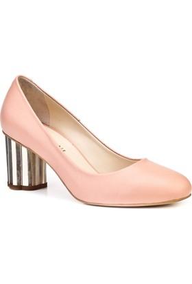Cabani Günlük Kadın Ayakkabı Pembe Deri