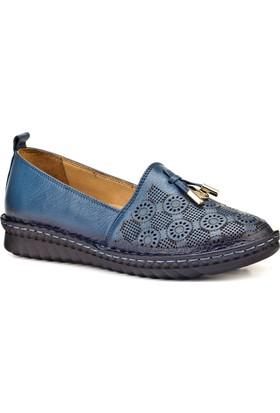 Cabani Günlük Kadın Ayakkabı Mavi